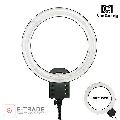 65W RING LIGHT + DIFFUSER ringlight - Ring lamp f. MAKRO FACE BEAUTY photography