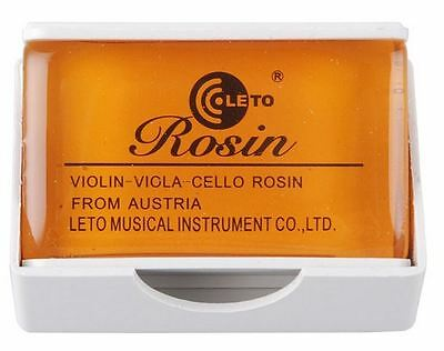 New High Quality Rosin for Violin Viola Cello Round Shape Amber Color Acoustic