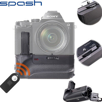 Vertical Battery Grip Suit For Sony A7 A7R A7S Camera
