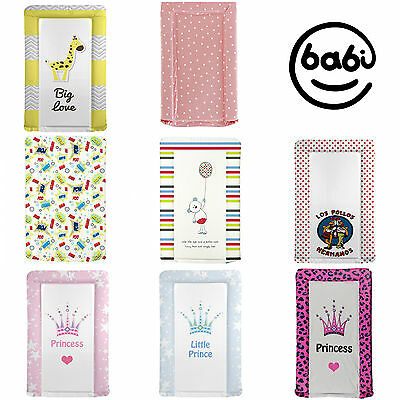 Deluxe Quality Baby Changing mat, Vinyl padded, many designs.Boy/Girl Made in UK