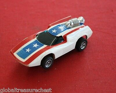 VINTAGE HO A/FX #1755 TURBO TURN ON SLOT CAR