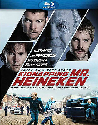 Kidnapping Mr. Heineken (Blu-ray Disc, 2015)