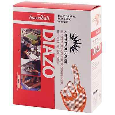 Photo Emulsion Kit New Speedball Diazo FREE SHIPPING