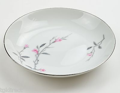 Fine China Of Japan Cherry Blossom Pattern Coupe Soup Bowl / Soup Plate # 1067