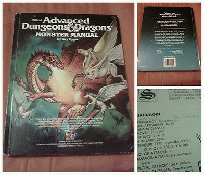AD&D 1st edition Monster Manual (with adapted infos)-TSR