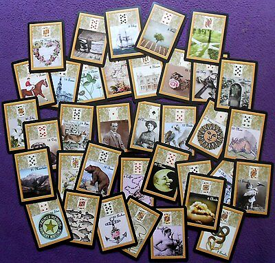 Heirloom Lenormand Fortune Telling Oracle 36 Cards by Lynn Boyle