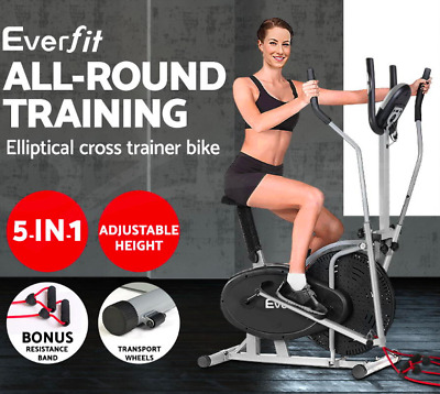 Elliptical Bicycle Cross Trainer Fitness Bike - Total Body Workout