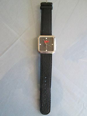 Wendy's Old Fashioned Hamburgers Promotional Wrist Watch