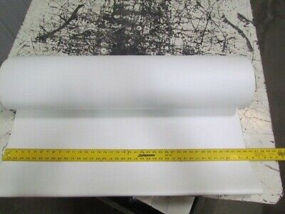 "1-Ply Smooth Top White Conveyor Belt 39-5/16""W 16'L Endless"