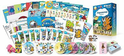 Japanese for Kids Premium set, Japanese learning DVDs, Books, Posters, Flashcard