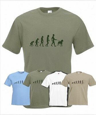 Evolution To Rottweiler t-shirt Funny Dog T-shirt in sizes Sm to 2XXL