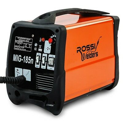 WELDER - 185AMP MIG/MAG GAS/GASLESS DC Anti-stick technology IP21