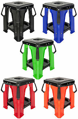 Motocross Mx Plastic Rigde Stand Off Road Motox Paddock Stand All Colours