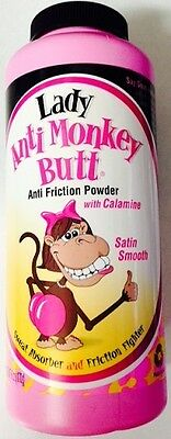 Lady Anti-Monkey Butt Powder 6 Oz Satin Smooth