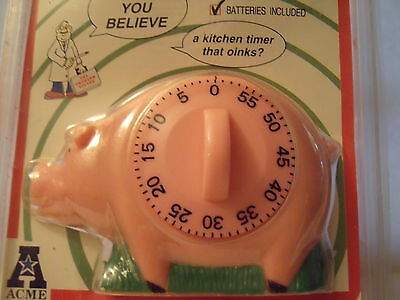 "PIG TIMER ""OINKS"" when time is up"