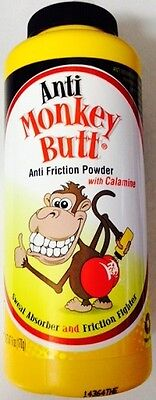 Anti-Monkey Butt Anti friction Powder 6 Oz