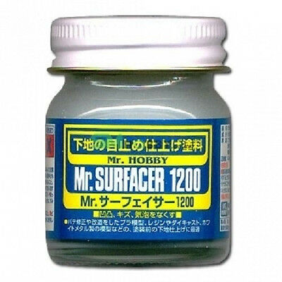 Mr. Hobby Mr. Surfacer 1200 Bottle 40ml SF286 SF-286 Model Kit