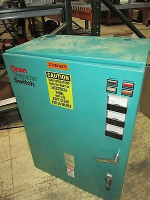 Onan Transfer Switch 306-3479-06 150A 440/480V 50-60Hz Used