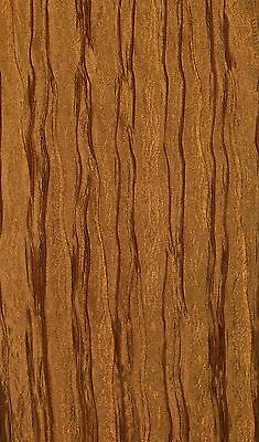 """10 yards Faux Silk CRUSHED DESIGN DRAPERY FABRIC Width 110"""" COLOR BRONZE"""