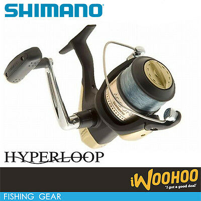 Shimano Hyperloop 6000FB Spinning Reel w/Line Fishing Tackle Rod Reel Big Game