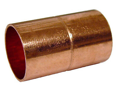 "2 1/2"" Diameter Plumbing Copper Fitting Coupling CxC Sweat - 10 Pieces"
