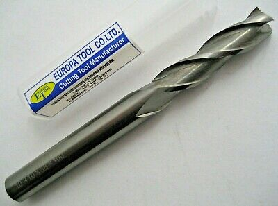 10mm SOLID CARBIDE L/S 3 FLUTED END MILL / SLOT DRILL EUROPA TOOL 3053031000 #41