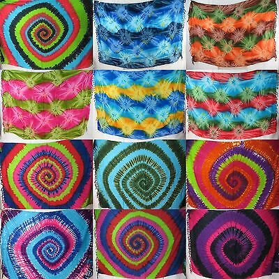 15pcs tie dye sarongs wholesale lot bathing suit cover up clothes wholesale