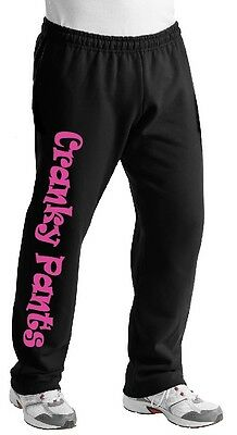 Cranky Pants Ladies Sweat Pants Girl Comfort Bad Mood Funny Gift Cold S-4XL