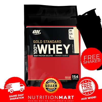 ON STACK - GOLD STANDARD 100% WHEY PROTEIN 10lb + Samples