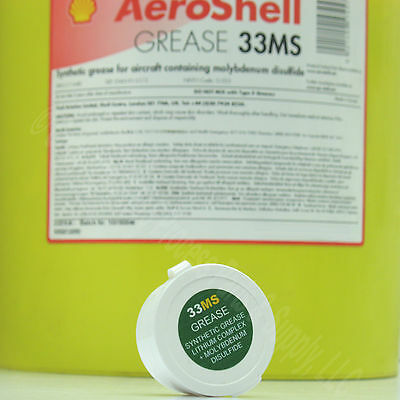 1 oz. AEROSHELL 33MS Lithium Moly Synthetic Grease Mil-Spec Gunsmith Armorer AR