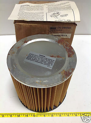 Dayton Pneumatic Cartridge Filter 2W435 Nib