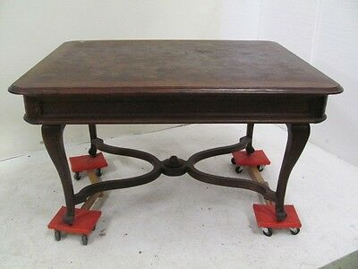 Beautiful Antique Oak French  Dining Room Table - 06Be366