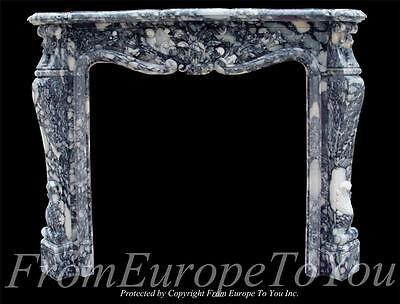 Beautiful Hand Carved Marble Fireplace Mantel Fnt7