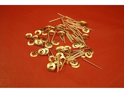 Clock Tapered pins and Sq Hole Hand Washers set of 50