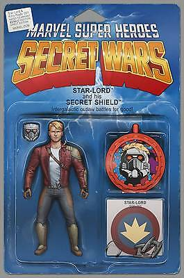 STAR-LORD AND KITTY PRYDE #1 ACTION FIGURE VAR - 9.4+ NM+ 7/22/15+ Marvel