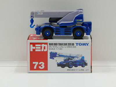 1:160 Tadano Rough Terrain Crane Crevo 600 - Made in China Tomica 73