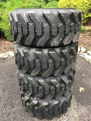 4-12-16.5 HD Skid Steer Tires-12X16.5-Solideal Xtra wall- for Bobcat and others