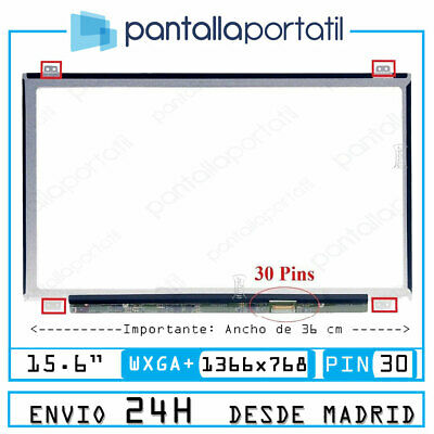 "LG Philips LP156WH3(TP)(S2) LCD Display Pantalla 15.6"" HD LED 30pin #24"