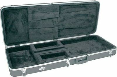 TGI Case ABS Electric (ST) Guitar. Black