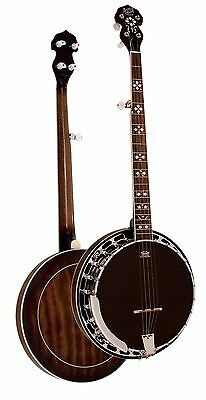 Barnes & Mullins Banjo 5-String Traditional Rathbone Model Mahogany Rosewood