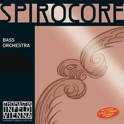 Spirocore Double Bass E. Chrome Wound 4/4 - Strong