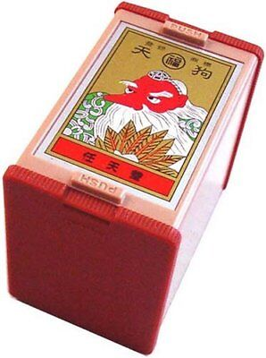Nintendo Japanese Original Playing Cards Game Set Hanafuda Tengu Red