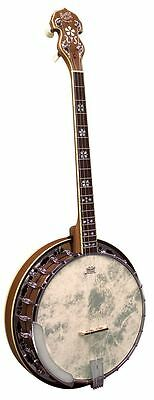 Barnes & Mullins Banjo 4-String Tenor Empress Model Walnut Maple Rosewood Chrome
