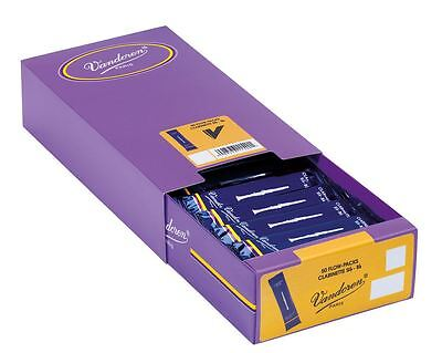 Vandoren Reeds Clarinet Bb 2.5 Traditional (50 BOX)