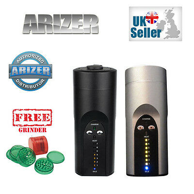 Arizer Solo Vaporizer Portable -  2015 New M1A Version - Uk Plug + Free Grinder