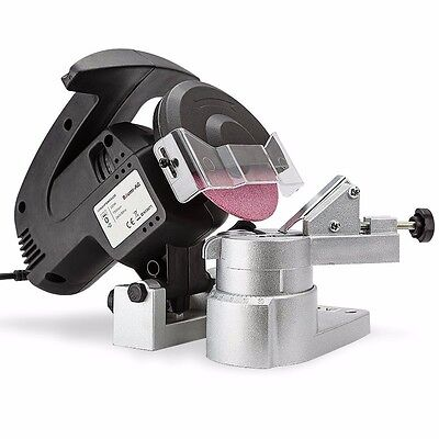 Chainsaw Chain Sharpener - 320W Baumr-AG with 3xGrinding Wheels