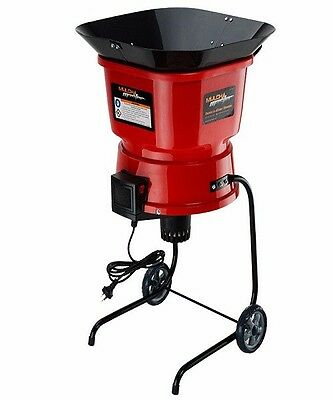 NEW MULCHMASTER Mulcher/Shredder Electric Garden Leaf Shredding Machine Portable