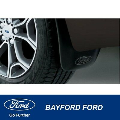 Mud Flap Set Mudflaps Rear Ford Territory  Sx & Sy Sy2 - New Genuine Ford