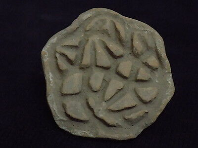 Ancient Indus Valley Teracotta  Seal/Stamp 2000 BC  #S8701