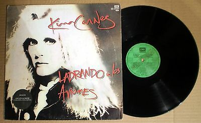 RaRe Import KIM CARNES Barking At Airplanes Promo M- LP